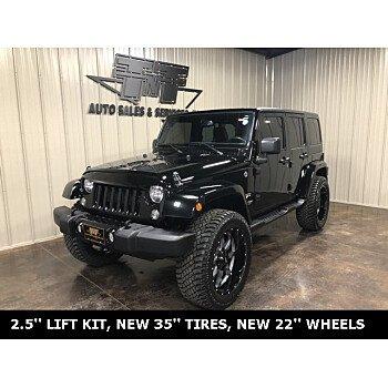2018 Jeep Wrangler JK 4WD Unlimited Sahara for sale 101267887