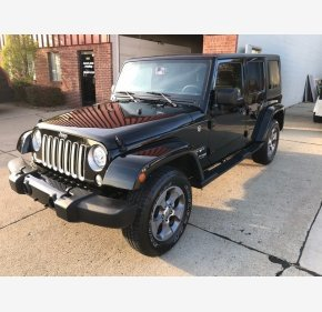 2018 Jeep Wrangler JK 4WD Unlimited Sahara for sale 101282345