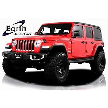 2018 Jeep Wrangler 4WD Unlimited Sahara for sale 101299853