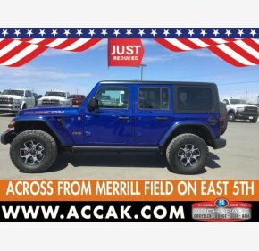 2018 Jeep Wrangler 4WD Unlimited Rubicon for sale 101326124