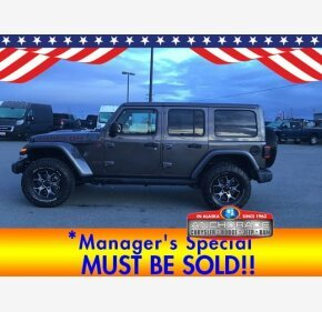 2018 Jeep Wrangler 4WD Unlimited Rubicon for sale 101326996