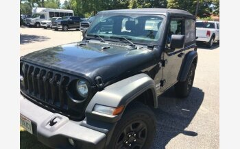 2018 Jeep Wrangler 4WD Sport for sale 101330048