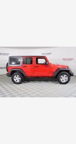 2018 Jeep Wrangler for sale 101356104