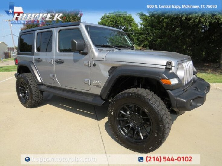 2018 Jeep Wrangler for sale 101550781