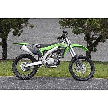 2018 Kawasaki KX450F for sale 200781804