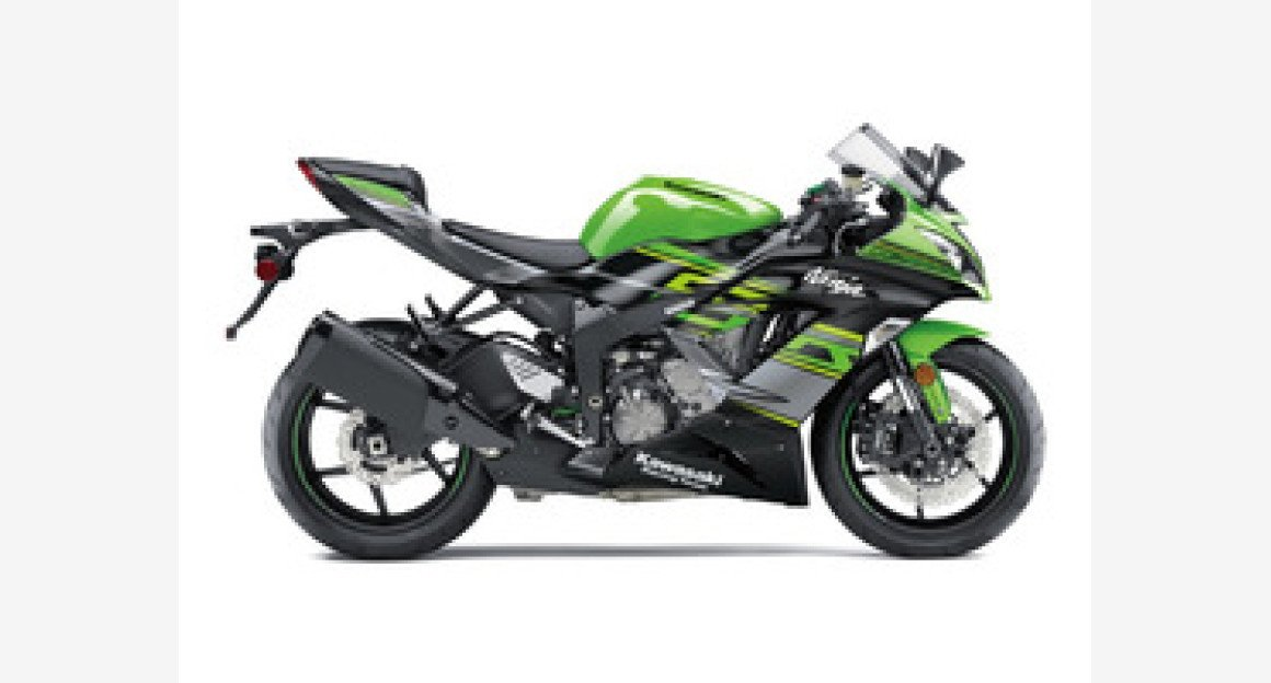 2018 Kawasaki Ninja ZX-6R ABS for sale 200554500