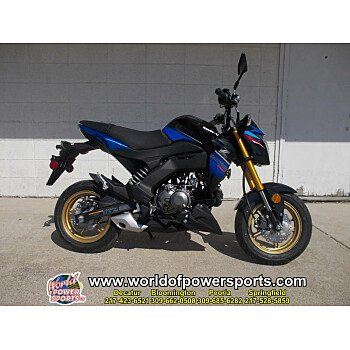 2018 Kawasaki Z125 Pro for sale 200636802