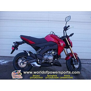 2018 Kawasaki Z125 Pro for sale 200636965