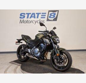 2018 Kawasaki Z650 for sale 200994579