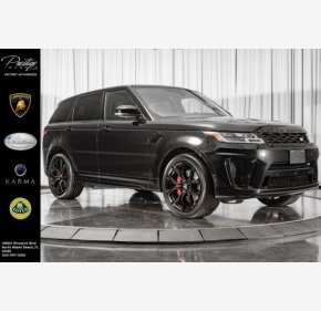 2018 Land Rover Range Rover Sport SVR for sale 101275767