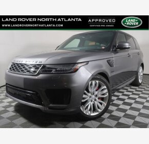 2018 Land Rover Range Rover Sport Supercharged for sale 101485957