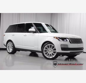 2018 Land Rover Range Rover Supercharged for sale 101409491