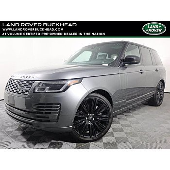 2018 Land Rover Range Rover for sale 101460420