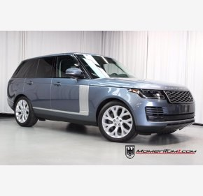 2018 Land Rover Range Rover HSE for sale 101474419