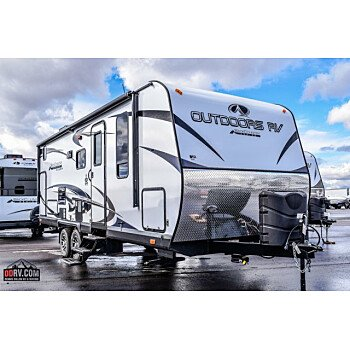 2018 Outdoors RV Black Rock for sale 300153867