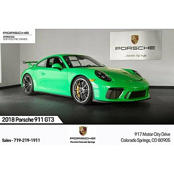 2018 Porsche 911 GT3 Coupe for sale 101209558