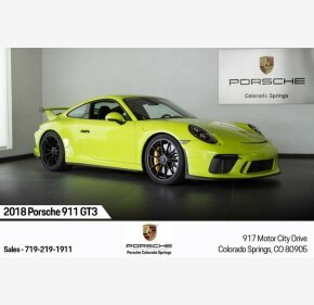 2018 Porsche 911 GT3 Coupe for sale 101209670