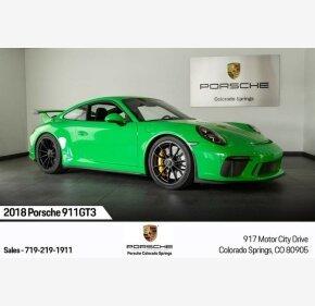 2018 Porsche 911 GT3 Coupe for sale 101268632