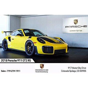 2018 Porsche 911 for sale 101400288