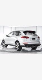 2018 Porsche Cayenne Platinum Edition for sale 101383203