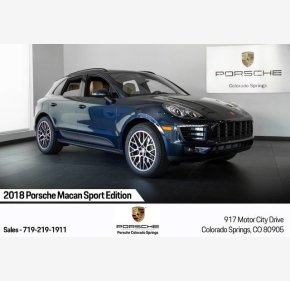 2018 Porsche Macan for sale 101214307