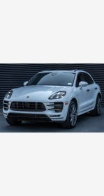 2018 Porsche Macan Turbo for sale 101341093