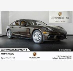 2018 Porsche Panamera for sale 101233205