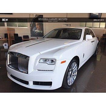 2018 Rolls-Royce Ghost for sale 101359420