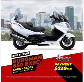 2018 Suzuki Burgman 650 for sale 200793527