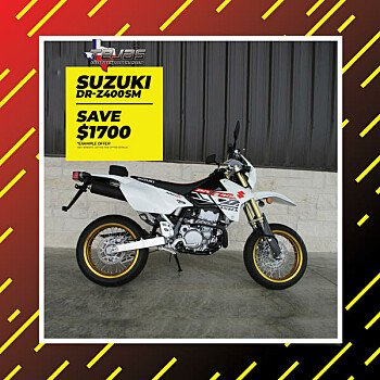 2018 Suzuki DR-Z400S for sale 200590542