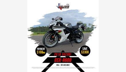 2018 Suzuki GSX-R600 for sale 200824303