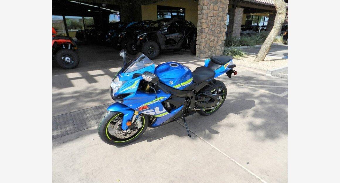 2018 Suzuki GSX-R750 for sale 200602953