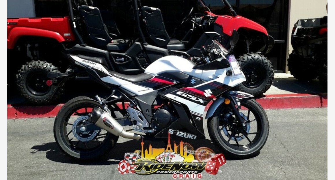 2018 Suzuki GSX250R for sale 200570939