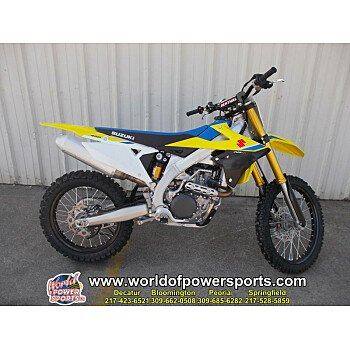 2018 Suzuki RM-Z450 for sale 200636828