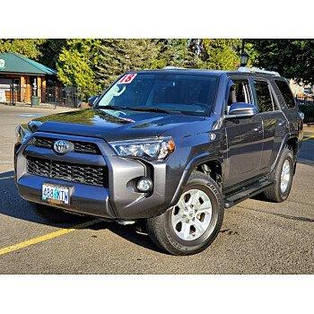 2018 Toyota 4Runner for sale 101243537