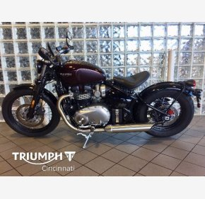 2018 Triumph Bonneville 1200 Bobber for sale 200908725
