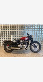 2018 Triumph Bonneville 1200 Bobber for sale 200908727