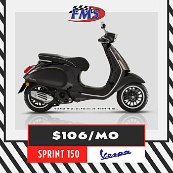 2018 Vespa Sprint 150 for sale 200857877