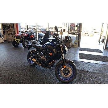 2018 Yamaha MT-07 for sale 200677870