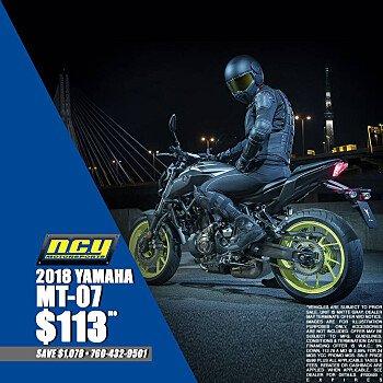 2018 Yamaha MT-07 for sale 200707298