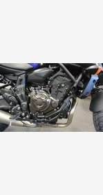 2018 Yamaha MT-07 for sale 200609289