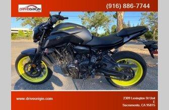 2018 Yamaha MT-07 for sale 200925986
