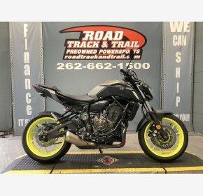 2018 Yamaha MT-07 for sale 200982581