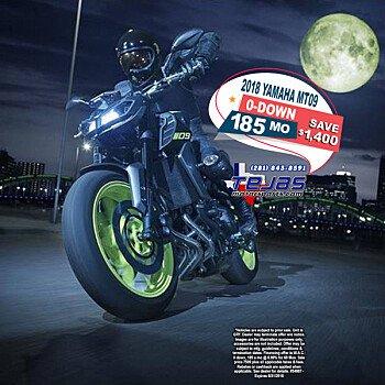 2018 Yamaha MT-09 for sale 200584527