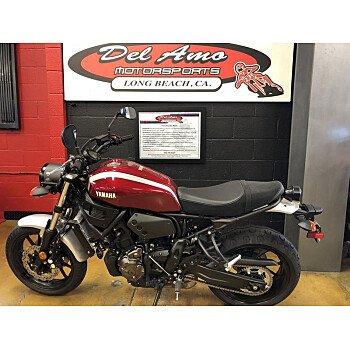 2018 Yamaha XSR700 for sale 200516509