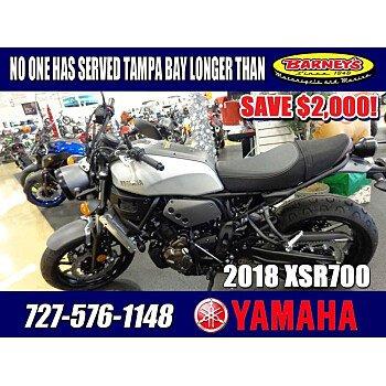 2018 Yamaha XSR700 for sale 200661984