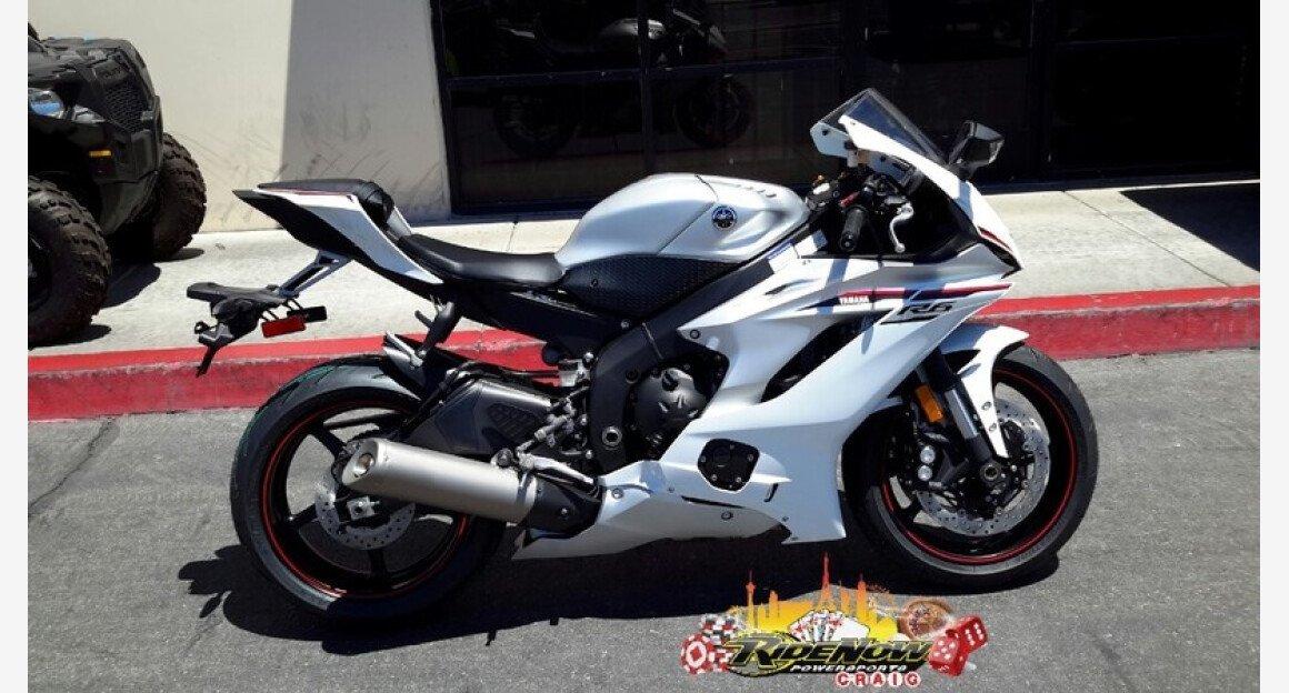 2018 Yamaha YZF-R6 for sale 200591304