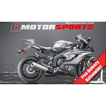 2018 Yamaha YZF-R6 for sale 200813035