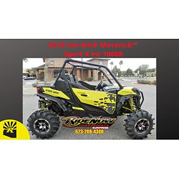 2019 Can-Am Maverick 1000R Sport X mr for sale 200658727