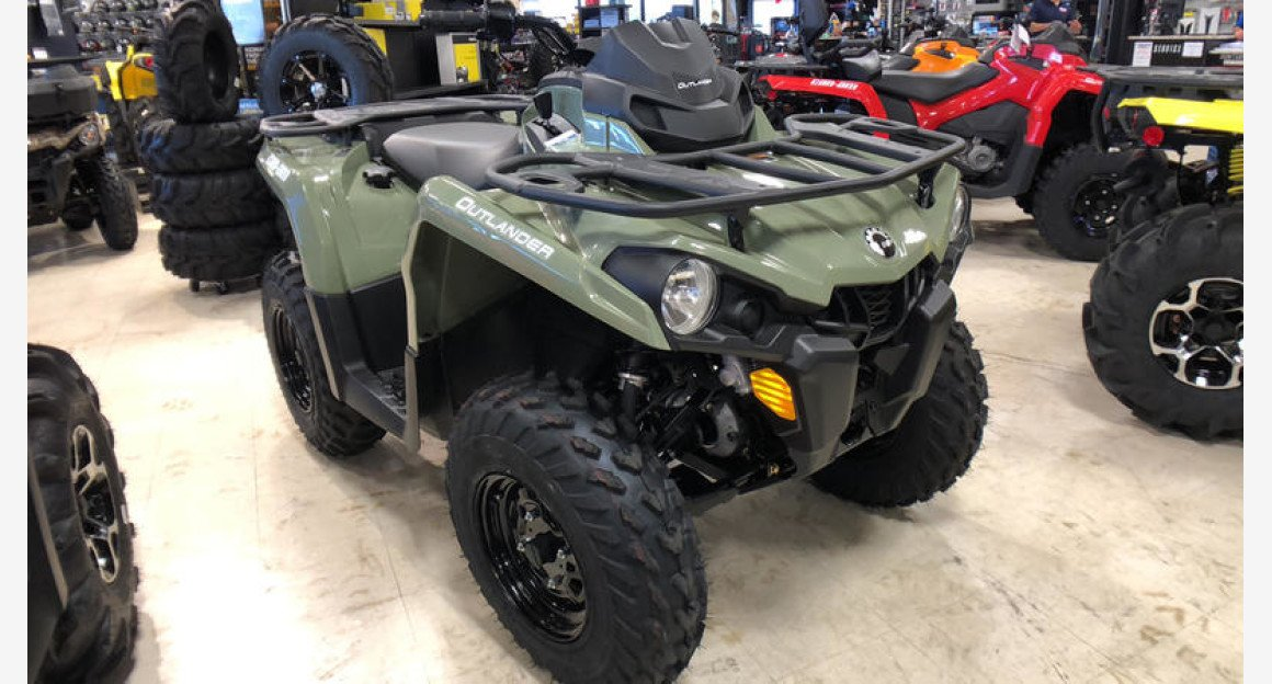 2019 Can-Am Outlander 570 DPS for sale 200620834